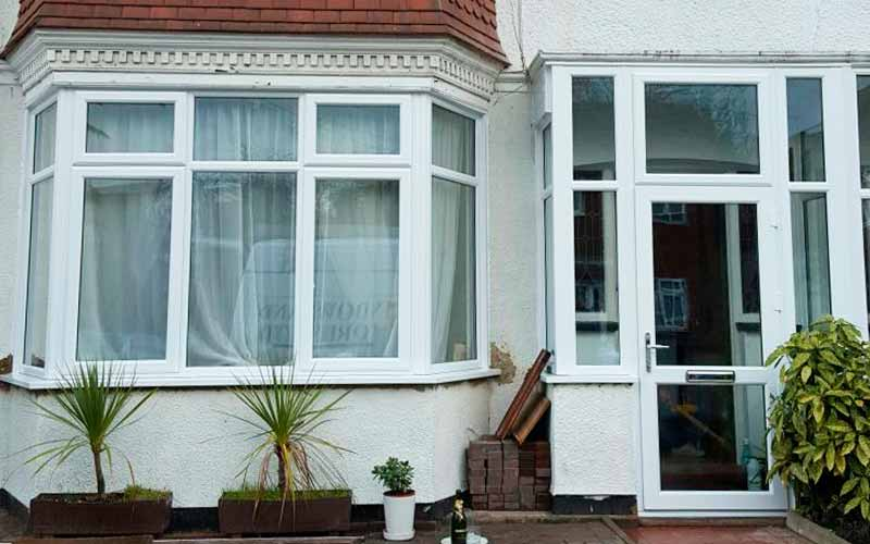 uPVC nay window installed for local property