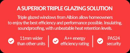Benefits of triple glazing