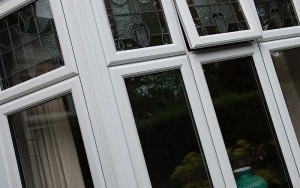uPVC windows in white